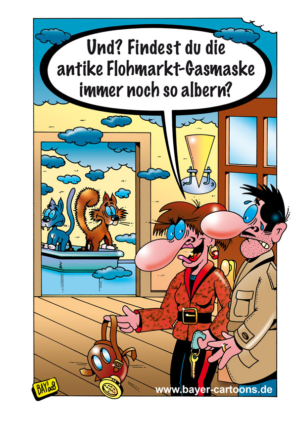 Wasserbett comic  Neue Cartoons und Comics von Stefan Bayer -: Der aktuelle Cartoon ...